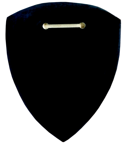 BACK-POLICE PATCH PLAQUE