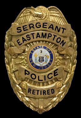 POLICE - SERGEANT BADGE