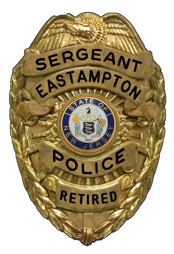 POLICE - SERGEANT BADGE