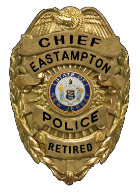 POLICE - CHIEF BADGE