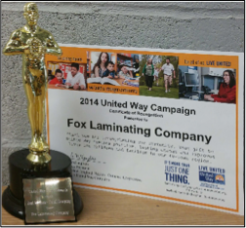 2014 United Way Campaign