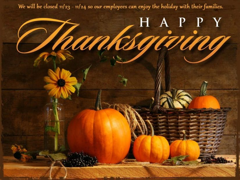 Happy-Thanksgiving CLOSED 2017
