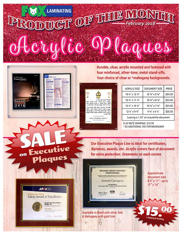 Feb2018-Acrylic wood plaque flyer