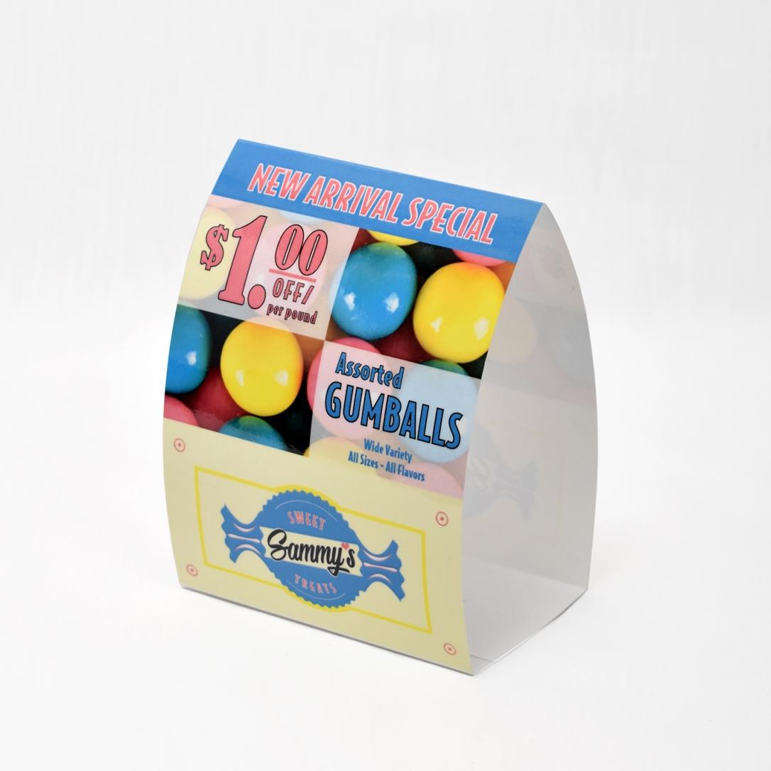 Gumballs-Tentcard